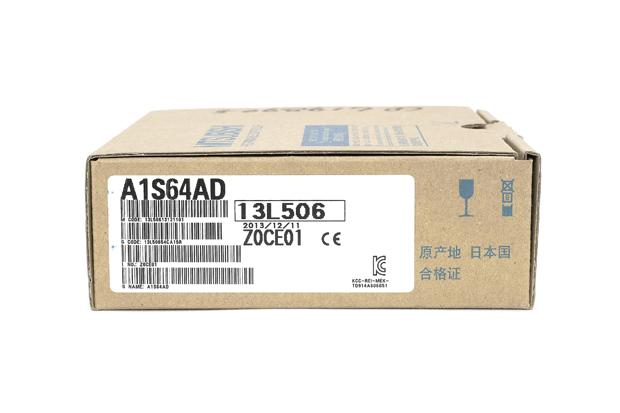 三菱 アナログ-ディジタル変換ユニット A1S64AD (13年12月製)
