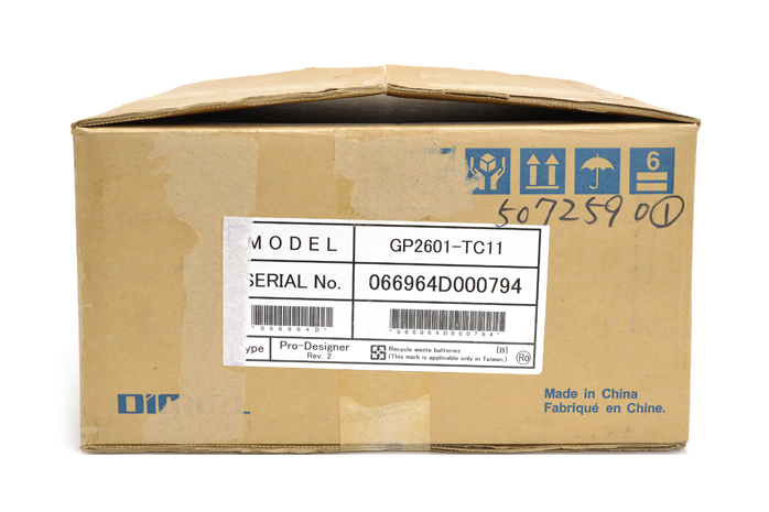 デジタル 表示器 GP2601-TC11 (06年10月製)