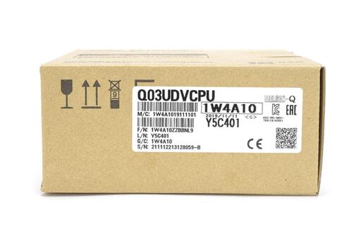 三菱 CPUユニット Q03UDVCPU (19年11月製)
