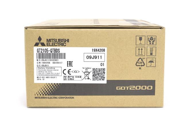 三菱 表示器 GT2105-QTBDS (19年10月製)