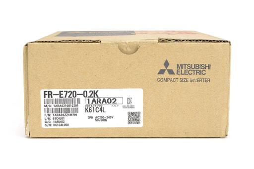 三菱 インバータ FR-E720-0.2K (16年1月製)
