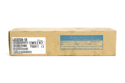 三菱 CC-Link小形タイプリモートI/Oユニット AJ65SBTB2N-16R (10年11月製)
