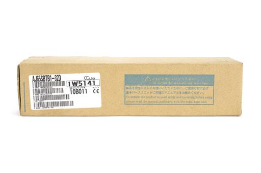 三菱 CC-Link小形タイプリモートI/Oユニット AJ65SBTB1-32D (11年1月製)