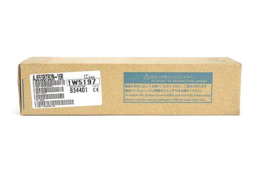 三菱 CC-Link小形タイプリモートI/Oユニット AJ65SBTB2N-16R (10年9月製)