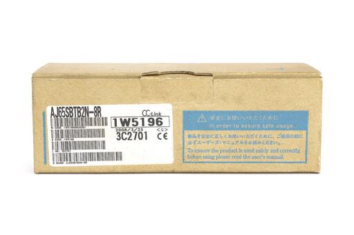 三菱 CC-Link小形タイプリモートI/Oユニット AJ65SBTB2N-8R (08年3月製)