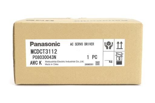 Panasonic ACサーボアンプ MCDCT3112 (08年3月製)