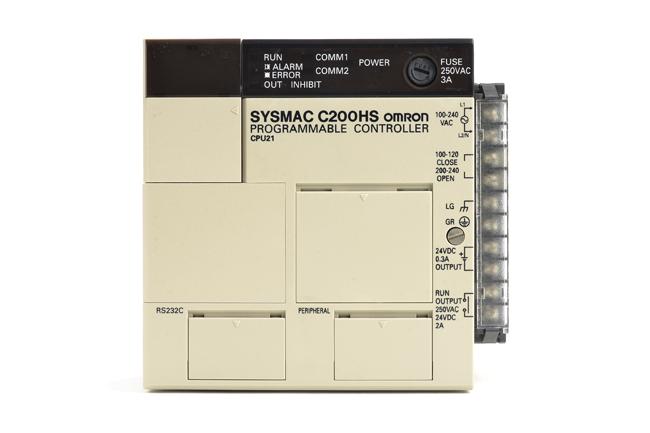 オムロン CPUユニット C200HS-CPU21 (04年4月製)