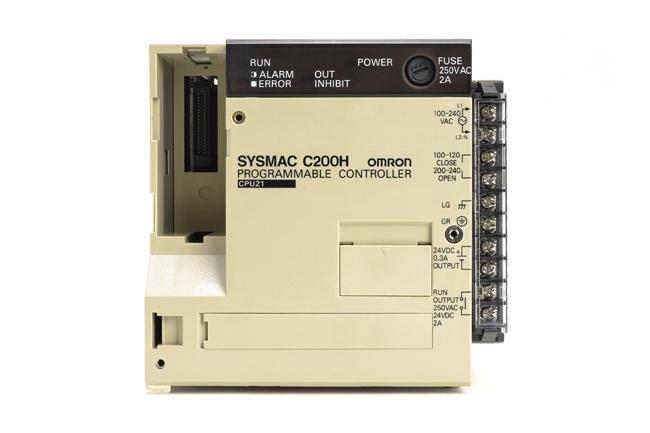 オムロン CPUユニット C200H-CPU21 (98年11月製)