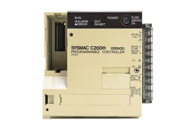 オムロン CPUユニット C200H-CPU01 (94年4月製)
