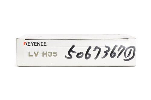 キーエンス デジタルレーザセンサヘッド(反射型・スポットタイプ) LV-H35 (12年7月製)
