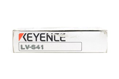 キーエンス デジタルレーザセンサヘッド(反射型・スポットタイプ) LV-S41 (05年10月製)