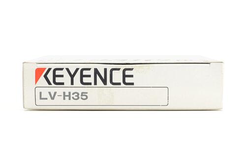 キーエンス デジタルレーザセンサヘッド(反射型・スポットタイプ) LV-H35 (04年10月製)