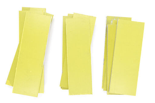 いろいろなアルミ板(A2017) 板厚12mm(約53×168mm以下) 約3kg入り