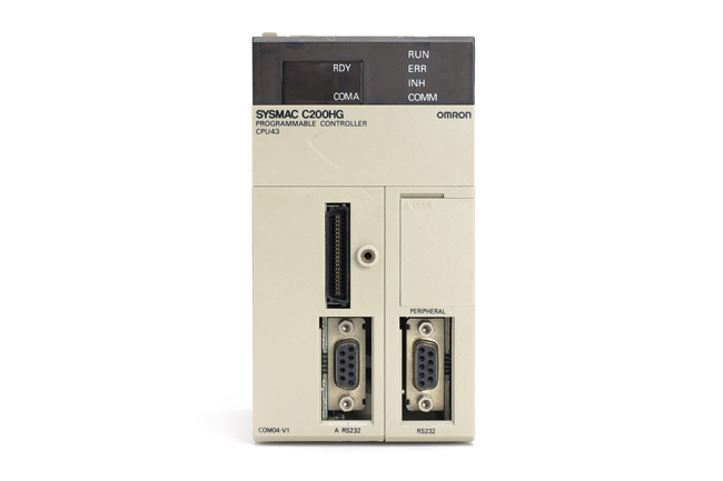 オムロン CPUユニット C200HG-CPU43 (97年7月製)