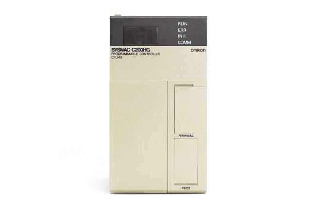 オムロン CPUユニット C200HG-CPU43 (00年11月製)