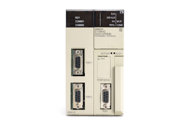 オムロン CPUユニット CS1H-CPU63H (08年1月製)