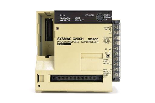 オムロン CPUユニット C200H-CPU21 (95年4月製)