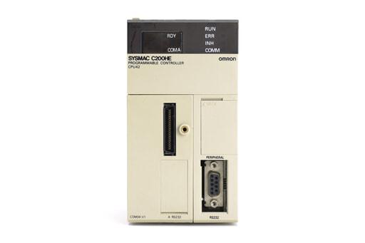 オムロン CPUユニット C200HE-CPU42 (01年11月製)