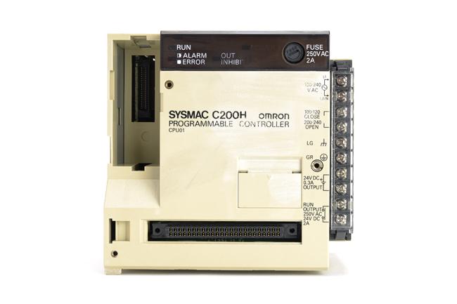 オムロン CPUユニット C200H-CPU01 (90年3月製)