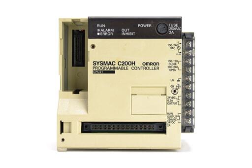 オムロン CPUユニット C200H-CPU21 (98年3月製)