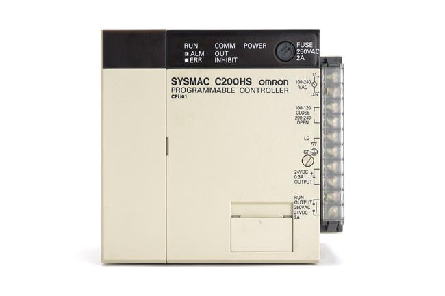 オムロン CPUユニット C200HS-CPU01 (00年3月製)