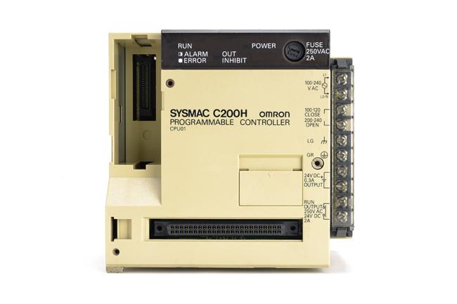 オムロン CPUユニット C200H-CPU01 (91年7月製)