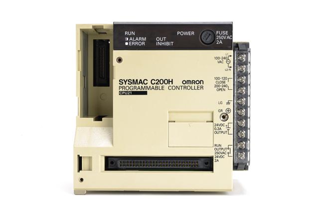 オムロン CPUユニット C200H-CPU21 (93年3月製)