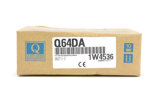三菱 ディジタル-アナログ変換ユニット Q64DA (04年7月製)