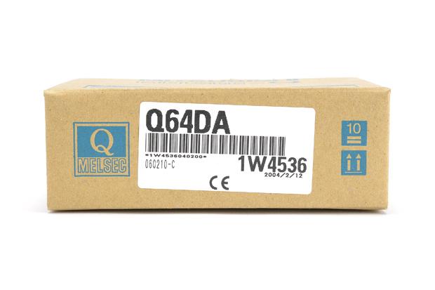 三菱 ディジタル-アナログ変換ユニット Q64DA (04年2月製)
