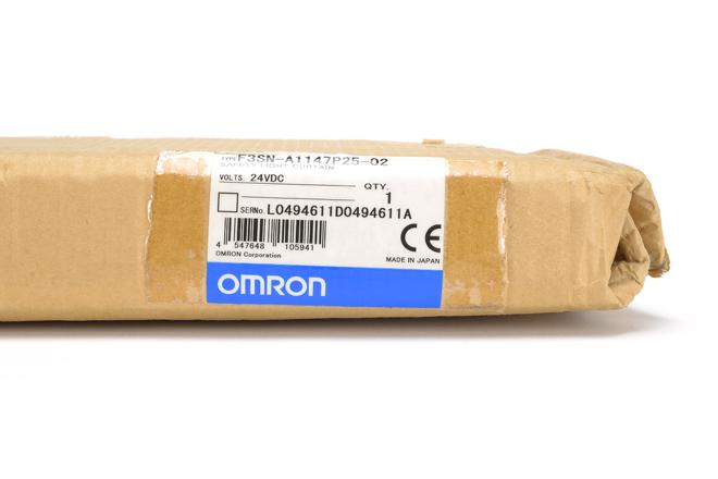 オムロン セーフティライトカーテン/マルチビームセーフティセンサ F3SN-A1147P25-02