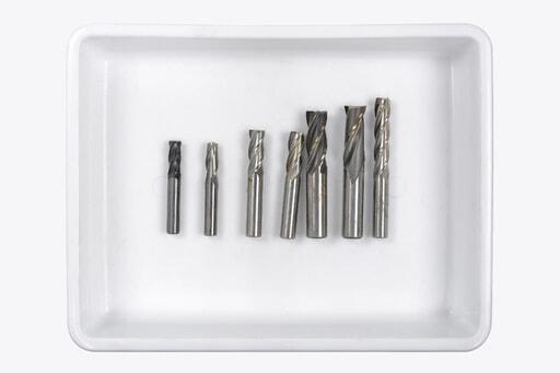 いろいろなエンドミル 7本入り (刃径:Φ10~20mm)