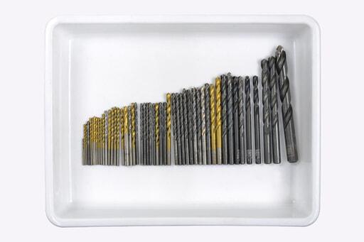いろいろなドリル 50本入り (刃径:Φ2~13mm)