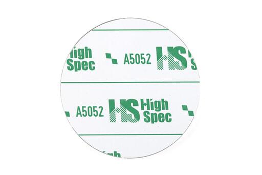A5052サークルフライス品 t6×Φ100mm