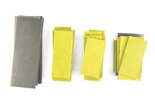 いろいろなアルミ板(A2017) 板厚10mm(約86×204mm以下) 約4.5kg入り
