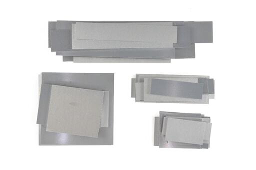 いろいろなアルミ板(A7075相当品) 板厚6mm(約148×334mm以下) 約5.5kg入り