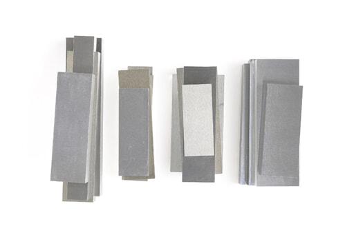 いろいろなアルミ板(A7075相当品) 板厚20mm(約55×164mm以下) 約3.9kg入り