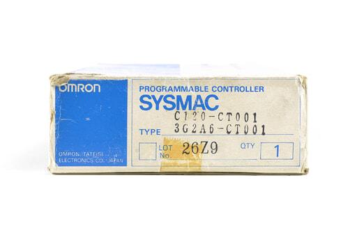 オムロン 高速カウンタユニット C120-CT001 (89年12月製)