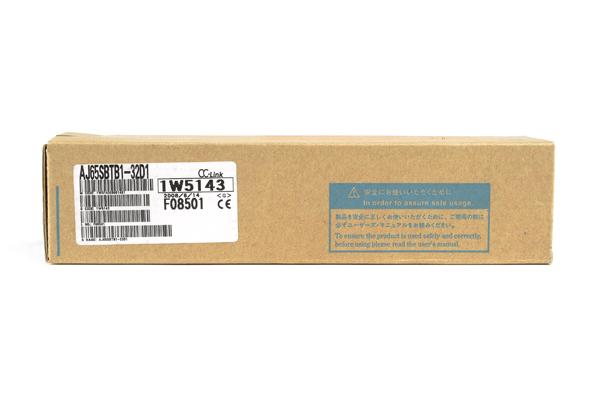 三菱 CC-Link小形タイプリモートI/Oユニット(DC入力、端子台) AJ65SBTB1-32D1 (08年6月製)