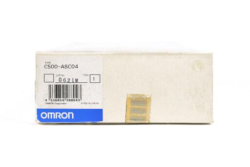 オムロン ASCⅡユニット C500-ASC04 (01年2月製)