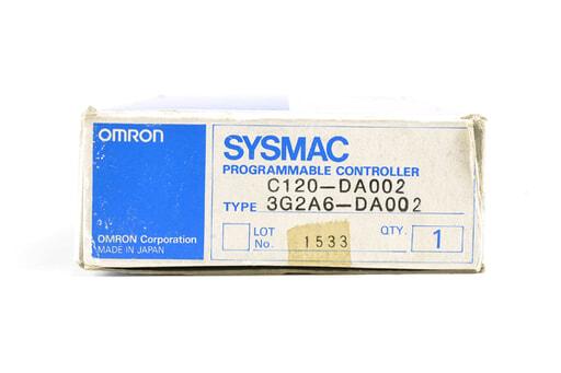 オムロン D/Aユニット C120-DA002 (93年3月製)
