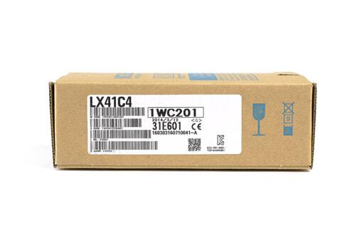 三菱 DC入力ユニット(プラスコモン/マイナスコモン共用タイプ) LX41C4