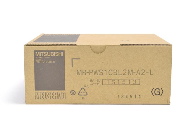 三菱 サーボモータ電源ケーブル MR-PWS1CBL2M-A2-L
