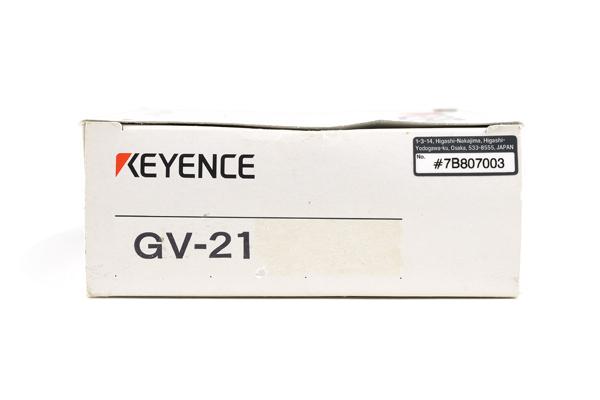 キーエンス アンプユニット 親機 NPN GV-21 (08年7月製)