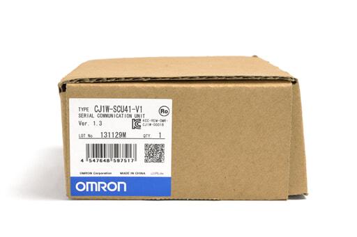 オムロン シリアルコミュニケーションユニット CJ1W-SCU41-V1 (13年11月製)