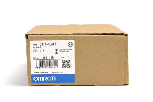 オムロン 位置制御ユニット CJ1W-NC413 (15年11月製)
