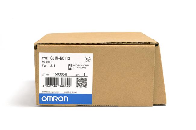 オムロン 位置制御ユニット CJ1W-NC113 (15年3月製)
