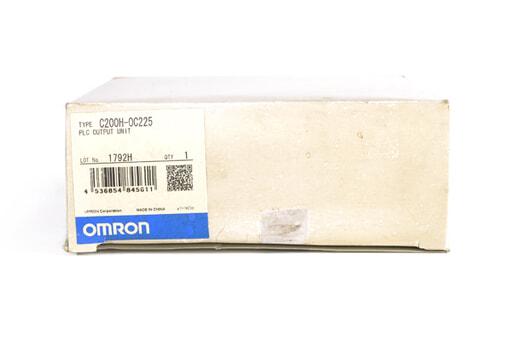 オムロン 出力ユニット C200H-OC225 (02年9月製)