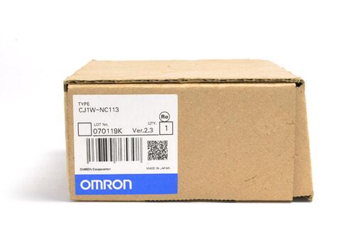 オムロン 位置制御ユニット CJ1W-NC113 (07年1月製)
